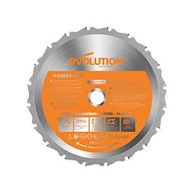 Evolution 210mm Saw Blade