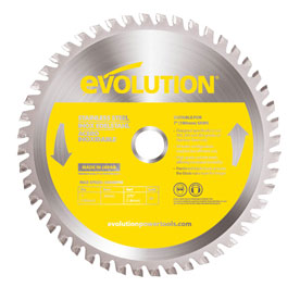 Evolution 180mm Stainless Steel Saw Blade