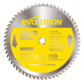 Evolution 355mm Stainless Steel Saw Blade