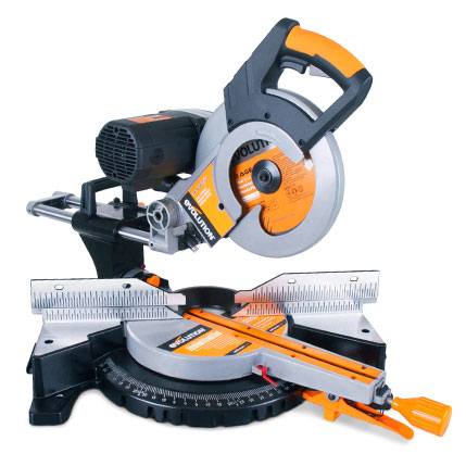 Evolution RAGE3-DB Sliding Mitre Saw