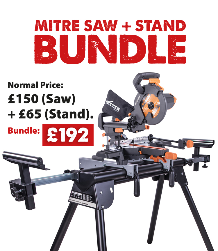 R210SMS+ & Mitre Saw Stand Bundle