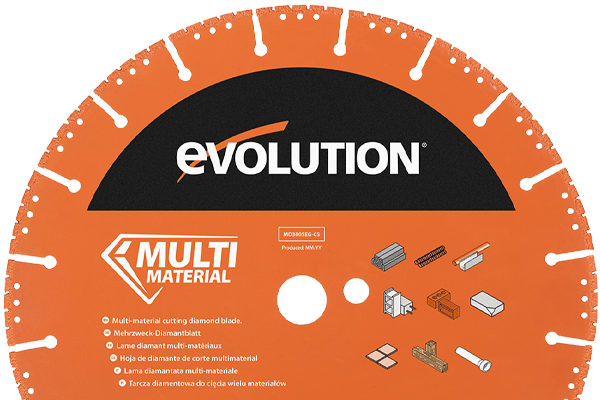Evolution Concrete saw Diamond Blades