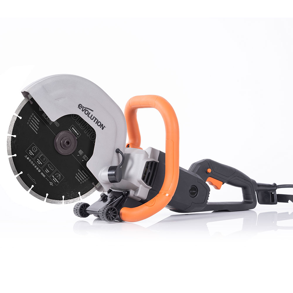 Evolution R255DCT 10 inch Concrete saw